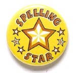Spelling Star School Badge